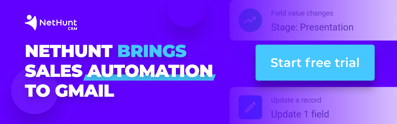 Sales Automation in Gmail