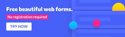 Free beautiful web forms