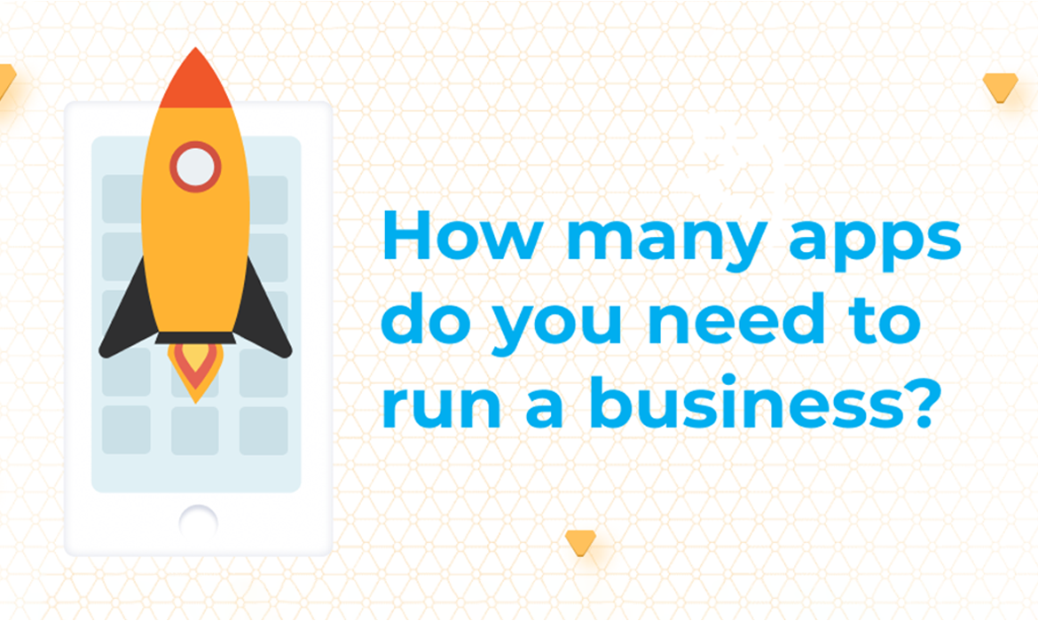 How many apps do you actually need to run a business?