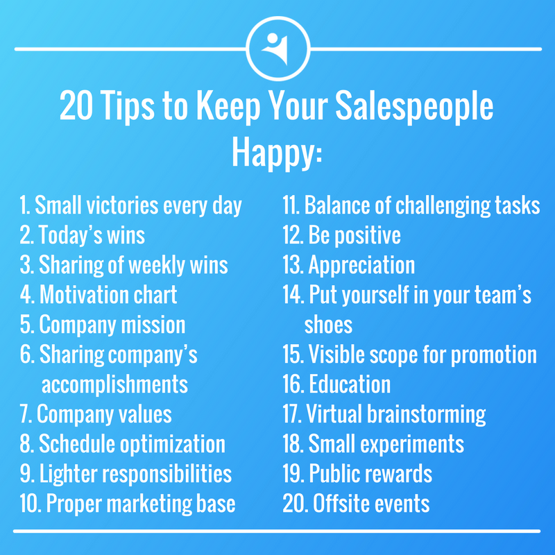 Tips To Make Sales Team Happy