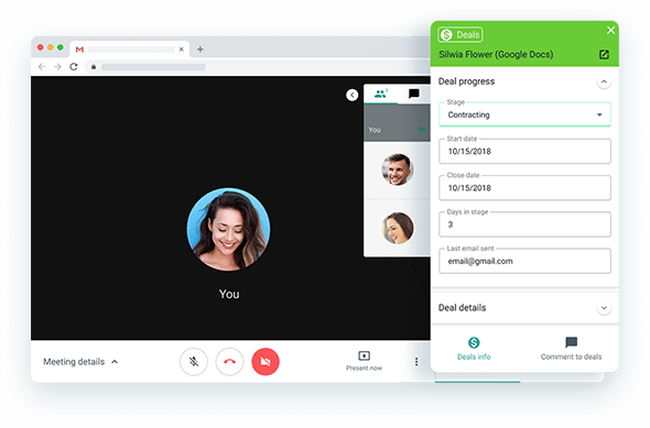 HANGOUTS — Stay on top of your negotiations